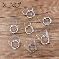 Universal Stent Mobile Phone Holder Stand Finger Ring Magnetic For cute Cell for XS MAX 8 Cat Bear Star Stand celular