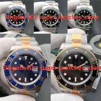 N-V11 Montre de Luxe 126610LN Relojes para hombre 41mm 3235 Movimiento 904L Estuche de acero fino Zafiro Piedra luminosa
