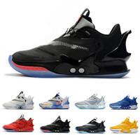 Adattare BB 2.0 scarpe da basket NXT Mens Winner Circle Tie-Dye Royal Black Mag cemento bianco Chicago White Cement uomini formatori scarpe da ginnastica di sport