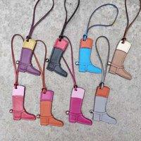 Moda PU Couro Botas de Cavalo Sapato Keychain Bolsa Chaveiro Chaveiro Titular Charme Mulheres Saco Acessórios Dropshipping1