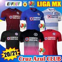 2020 2021 클럽 크루즈 AZUL 축구 유니폼 20/21 홈 멀리 셋트 워터 셔츠 리가 MX Camisetas de Futbol Kit GoalkePeer Jersey