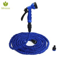 25FT-100FT Garden Hose Expandable Magic-Flexible Water Hose EU US Plastic Hoses Pipe With Spray-Gun To Watering Car Wash Spray