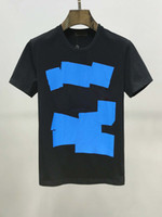 2020 T-shirt d'été de luxe pour hommes GRUE Impression de concepteur T-shirt HIP-HOP Mode T-shirt à manches courtes et manches à manches courtes M-3XL
