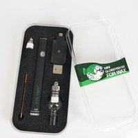 LTQ Mini Globefish Vape PEN E Cigs Kits para a cera LTQ Vapor Vape Pen Built-in 380mAh Ceramic bobina 510 fio de vidro tanque