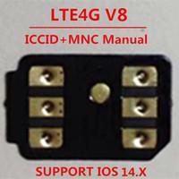 Бесплатный DHL VSIM V8 разблокировать SIM-карту для iOS 14.x US / T-Mobile, Sprint, Fido, DOCOMO Другие носители Turbo Sim Gevey Pro