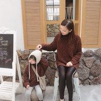 Milkel Familie passende Kleidung Mutter und Tochter Kleidung Mode Mädchen Pullover Familie passende Pullover LJ201111