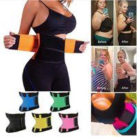 Da cintura para instrutor Thermo suor Strap Modeling Cinto instrutor Cinto espartilho Mulheres Tummy Shapewear gordura da cintura instrutor Corpo Shaper VT1844