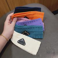 Sugbiber эластичный оголовье для женщин и мужчин Лучшее качество бренда буква черный треугольник полосы волос головы шарф для детей Headwraps подарки
