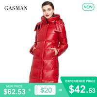GASMAN New high quality fashion down parka Women's winter jacket women's coat outwear Female puffer hooded thick jacket 018 201022