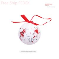 Christmas Ornaments Balls 7cm Decorative Balls for Bowls Gla...