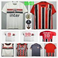 2020 2021 Sao Paulo Futbol Formaları Dani Alves Pato Nene Pablo Hernanes Helinho Özel 20 21 Ev Uzakta Üçüncü Erkekler Kadın Çocuklar Futbol Gömlek