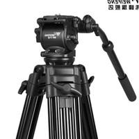 Tripods WF718 Professional Video Tripod DSLR Camera Heavy Duty With Fluid Pan Head 1.8m High Load 8kg WF-718 Better Than JY0508