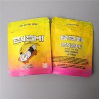 SF أحدث Zushi Mylar نكهة حقيبة عشبة زوي زهرة سستة حقيبة جاف التبغ حقيبة التجزئة zushi مايلر أكياس 3.5g أكياس تغليف وظيفة الطفل والدليل