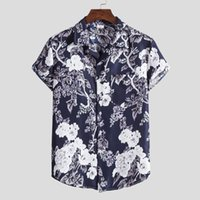 Men' s hawaiian summer shirts chemisier new mens fashion...