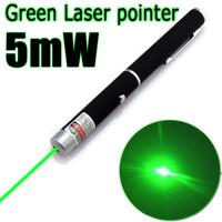 1Pcs 5 mW 532nm grüne Laser-Feder-Zeiger-Vorführer Leistungsstarke Fern Lazer Jagd Bore Sighter ohne Batterie
