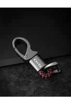 Keychains Автомобильные Укладки Кожа / Из металла Эмблема Ключ Ключ Брелок для Kia Rio 3 4 5 2013 2014 2021 2010 K3 K5 с logo Ring1
