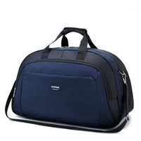 Повседневная сумка для путешествий Водонепроницаемые мужские багаж чемодан прочный Duffel сумка на плечо женщины большая емкость на выходные SPORT1