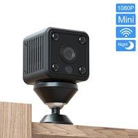 كاميرات IP كاميرا مصغرة مع 4000 مللي أمبير بطارية لاسلكية واي فاي الأمن 1080P للرؤية الليلية كشف الحركة مراقبة الفيديو