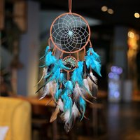 Hand Woven Dream Catcher Feathers Wind Chimes Handmade Dream...