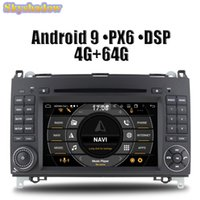 DSP PX6 IPS Android 9.0 6 CORE 4G + 64G Lecteur DVD radio Radio GPS WiFi Bluetooth pour W169 W245 Viano / Vito Sprinter W209 W906
