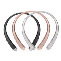 HBS-910 HBS 910 무선 스포츠 넥 밴드 헤드셋 이어폰 이어폰 헤드폰 블루투스 스테레오 이어폰 헤드셋 LG HBS-910 아이폰 x 11 삼성 S10