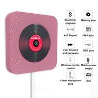 Player CD Настенный Bluetooth Portable Home Audio Boombox с дистанционным управлением FM-радио Встроенные динамики HiFi USB MP31