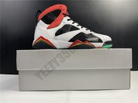 2020 Jumpman GC Grande Chine 7S 7 dragon OG haut Chaussures de basket infrarouge Tinker Red Cat CW2805-160 Mens Designer