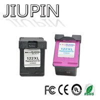 Jiupin 1 set 122xl cartucce d'inchiostro compatibili per 122 xl per Deskjet 1000 1050 1050A 1510 2000 2050 3000 3050 stampante