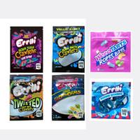 Errlli Sour Terp Crawlers Chanders Bites Bit 600 mg Gummy Edibles Packaging Sac Mylar 500mg Hashtag Hone Honey Sacs Sacs Sacs Biscuits Sacs Californie Sacs