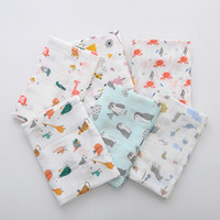 Хлопок Newborn Bamboo Muslin Revaddle для новорожденных Прекрасные обертки для ванны полотенце мягкое детское одеяло Y200109