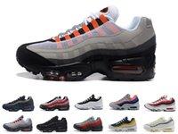 max 95 95s hombres zapatillas para correr Worldwide Pack Triple Negro Blanco Neón plataforma al aire libre de moda para hombre para mujer zapatillas deportivas