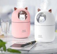 المنزلية الصغيرة ملحق المياه العطر المرطب سيارة الإبداعي القط مصغرة المرطب الرطوبة المياه USB