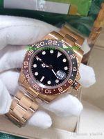 BP Factory Luxury Top Quality 40mm GMT 126715 126711 126711Chnr Cerâmica ETA 2813 Movimento Automático Mens Watch Relógios