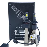 1pair мотоцикла LED фара Conversion Kit лампы H4 9005 9006 H1 H7 9145 9140 H6 30W 9012 6000K Белый 6000LM Plug-N-Play США STOCK
