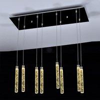 Lights Asma Spiral Uzun Lambalar Kristal Merdiven Avize Asma Yüksek Tavanlar Villa Entryway merdivenler Avize Işık