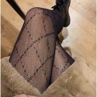 Womens Sexy Lace Moda Moda Letras Padrão Long Socks Party Style Leggings Meninas Calças 2021 Novo Tamanho Livre Alta Qualidade para Atacado