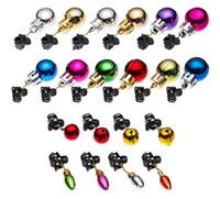 Festa de Natal Bola de Bigode Clipe Multicolor pequeno sino Christmases Beard Ornamento de suspensão engraçado Hot Sale 0 62sc J2