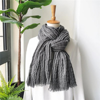 American Japanese Unisex Style Winter Scarf Cotton And Linen...