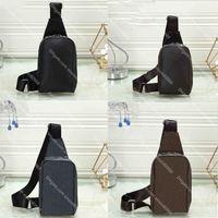 Marke Mini Avenue Sling Umhängetaschen Luxus Designer Männer Frauen Brust Crossbody Tasche Leder Outdoor Sport Geldbörse Brieftasche