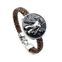 Bracelets Charm 2021 Прибытие Игра Playerunknown's Battle Arges Рисунок PUBG PANS Подвеска Браслет Сплав Плаус Браслет для GI Вентилятора