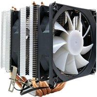 Fans Kühlungen Xueyufengshen CPU-Kühler 6 Reines Kupfer-Wärmerohr Kühlturm-Systemlüfter-Kühler für LGA1150 / 1155/11561