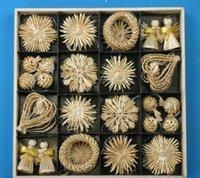 ZGOX # 장식 나무 밀 크리스마스 온라인 장식 짚 장식 짠된 세트 장식품 크리스마스 축제 판매 jllou ffshop2001