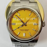 36mm Unisex Super Relógios Homens Automático Ásia 2813 Movimento Relógio Mulher Mens BP Fábrica Aço 126000 Eta Midsize Senhoras Relógios de Relógios