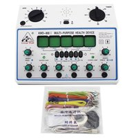 Kwd-808i 6 canais unidade de dezenas. Estimulador de Multiusos Acupuntura Estimulador de Massagem de Saúde Estimulador Músculo Nervo Elétrico