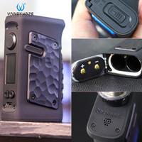 Vandy Vape Jackaroo double boîte Mod 188W alimenté par double 18650 IP67 étanche anti-poussière antichocs Bluetooth Connect 100% authentique