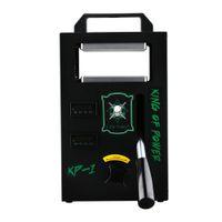 4 طن الضغط KP-1 Rosin Tech Heat Heat Press Machine المزدوج الحرارة لوحات دليل الصناديق DAB