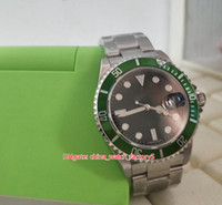 Artículos calientes Top Quality BP Maker Green Vintage 40mm 16610 16610lv 50ht Aniversario Asia 2813 Movimiento Mecánico Mecánico Mens Watch Watche