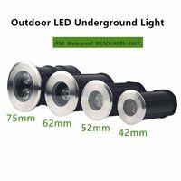 85-265V IP68 wasserdicht 3W 9W LED U-Licht Boden Gartenweg Stehleuchte Außen Buried Eingebettete Yard Lampe Landschaft Licht