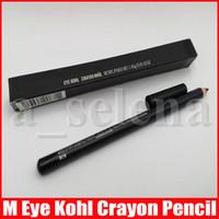 Maquiagem M Eye Kohl Crayon Eyeliner Pencil Natural Waterptoof Cool Black Eye Liner Pen 1,45g
