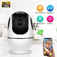 Kameralar Zoohi 1080 P IP Kamera Wifi İki Yönlü Ses Güvenlik CCTV Ev 2MP Bebek Monitörü Gece Görüş Gözetleme